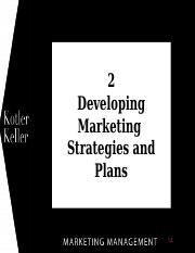 Week 2 -- Marketing Management.ppt