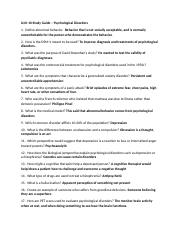 Psychological Disorders Study Guide.docx
