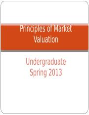 Lecture 02_June 6 Principles of Market Valuation.PPT