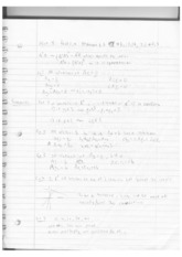 Linear Algebra Lecture 4 Notes