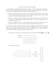 Revised Simplex Method