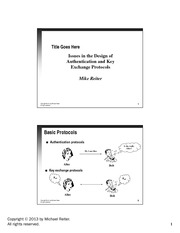 lecture notes_Protocols