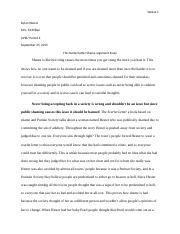 The scarlet letter and the shame argument essay.docx