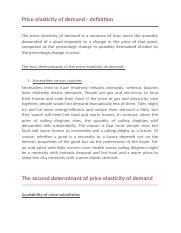 Price elasticity of demand and its determinants.docx