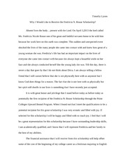 delta sigma theta scholarship essay the impact of a college 2 pages fredricia nicole rouse scholarship essay