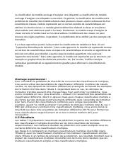 La classification de modèle envisage d.docx