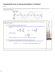 HW8 Comparing the mass-on-spring and pendulum 2 solution-2 (1).pdf
