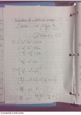 Evaluation of a definite Integral