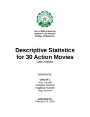 (CPROBS1) Top 100 Action Movies - Paper