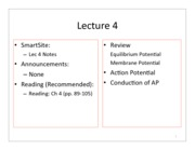 1 - Lecture 4 Notes
