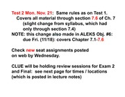 C142A Ch 7 2011 lecture notes rev