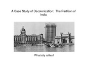 Lecture 15 The Partition of India pdf version