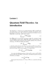 (ebook - physics) Quantum Field Theory - An Introduction to String Theory