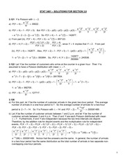 STAT 3401_SOLUTIONS_SECTION 3.8