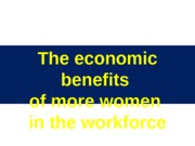 01 The economic benefits of more women