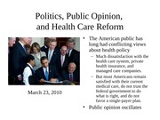 Lecture 6 -- Health Care Reform-2