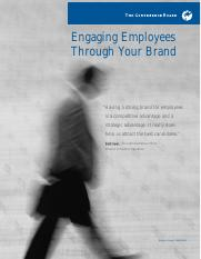 Article - Engaging employees through your brand