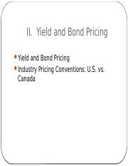 MFIN5400_s02 - yield and bond pricing