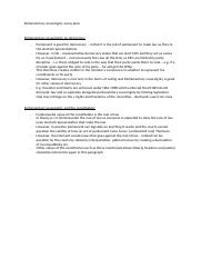 Law  University Of Kent  Course Hero  Pages Parliamentary Sovereignty Essay Plandocx