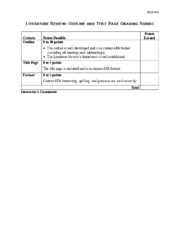 Literature_Review_Outline_and_Title_Page_Grading_Rubric.doc