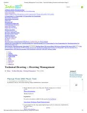 Drawing Management True or False - Technical Drawing Questions and Answers Page 2