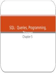 Lec 4 - Introduction to SQL