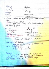 Aldehydes and Keytones