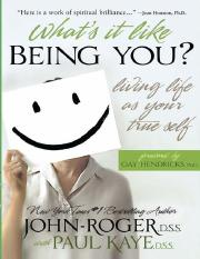 What's It Like Being You__ Livi - John-Roger
