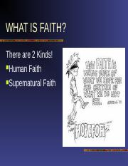 What is Faith.ppt