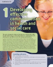 BTECLevel3NationalHealthandSocialCare-StudentBookSampleMaterial-Unit1Developingeffectivecommunicatio