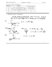 Assingnment 7 (solution)