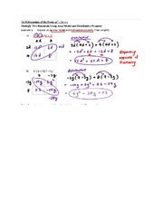 3.6 Polynomials of the Form