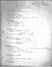 CHM 231 Organic Synthesis