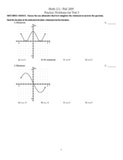 PDF_Math%20121_ReviewT3_Fall2009_6.1,6.2,6.4,6.6,7.1,7.2