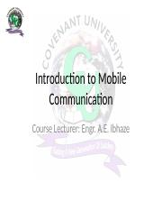 Module 1 - Introduction to Mobile Communication.pptx