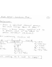 ChE10-16F-Lecture 16 Notes