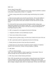 ORIE 3150 October 28 2014 notes ABC