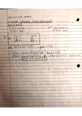 Higher Order Derivatives and Marginal Cost Functions Notes