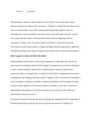 Synthesis Essay Summer Assignment book and articles