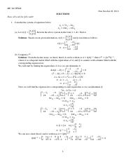 ME 340_Fall 2016_HW08_Solutions