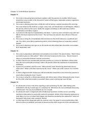 Chapter 71-74 NCLEX Style Questions.docx