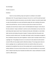 PHIL 220- Journal #3