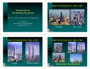 Civl101 -11- Introduction to Tall Building Structures