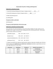 Assignments_Characteristic Properties