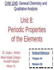 Unit.08.PeriodicPropertiesOfElements.Lecture