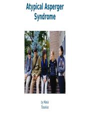 Atypical Asperger Syndrome