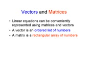 Vector_matrices