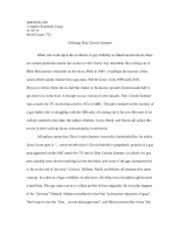 Complex Synthesis Essay_2012