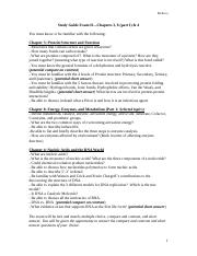 Study Guide Exam II Biol 1306