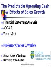 CASH FLOW EFFECTS OF GROWTH WINTER 2017  READY